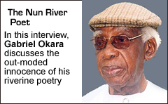 Gabriel Okara, the Nun River Poet